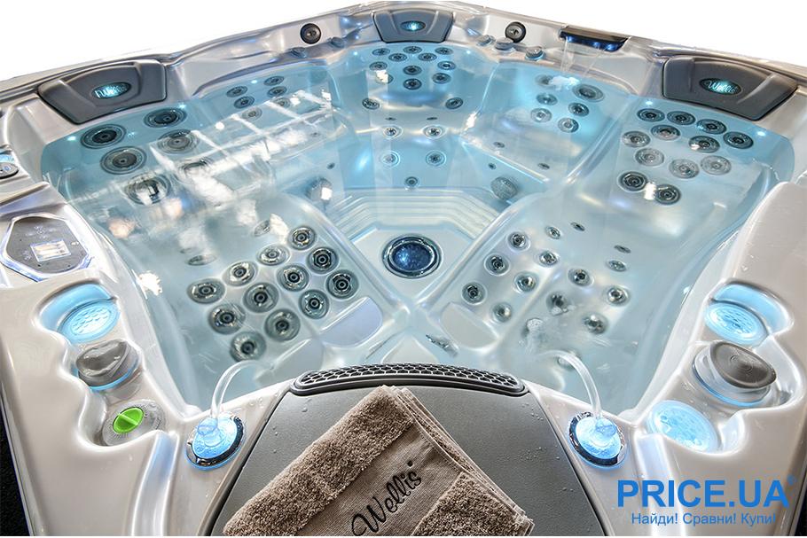 Как правильно выбрать СПА-бассейн. Гидромассажный функционал