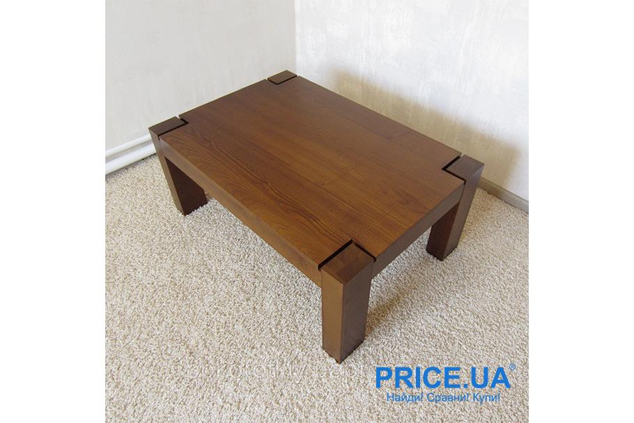 Журнальный столик своими руками. Из дерева