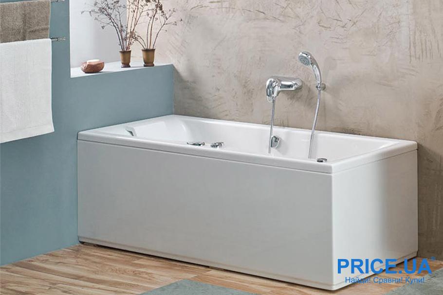 Акриловая ванная: советы по выбору. Размеры