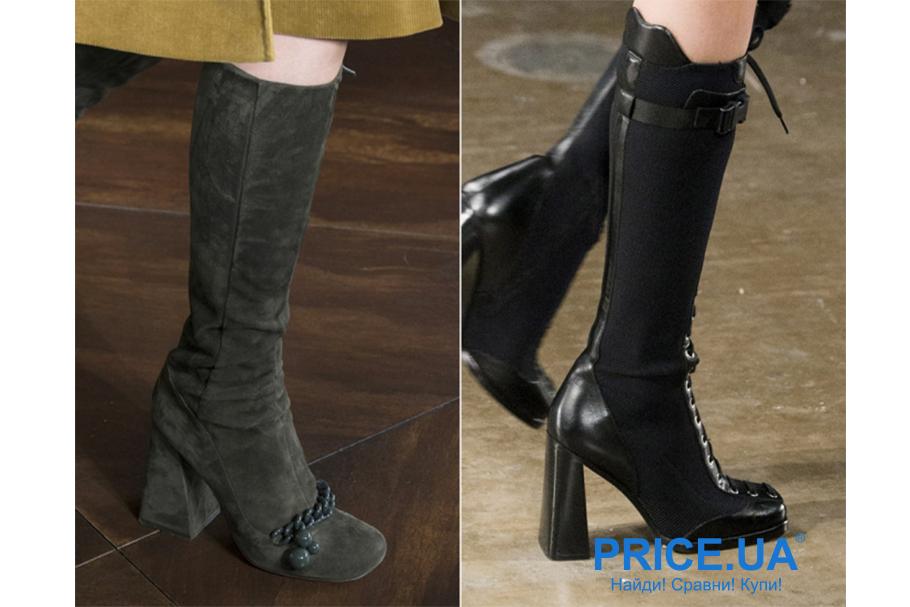 Зимняя обувь: какую выбрать. Необычные каблуки