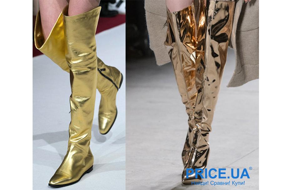 Зимняя обувь: какую выбрать. Экстравагантные ботфорты