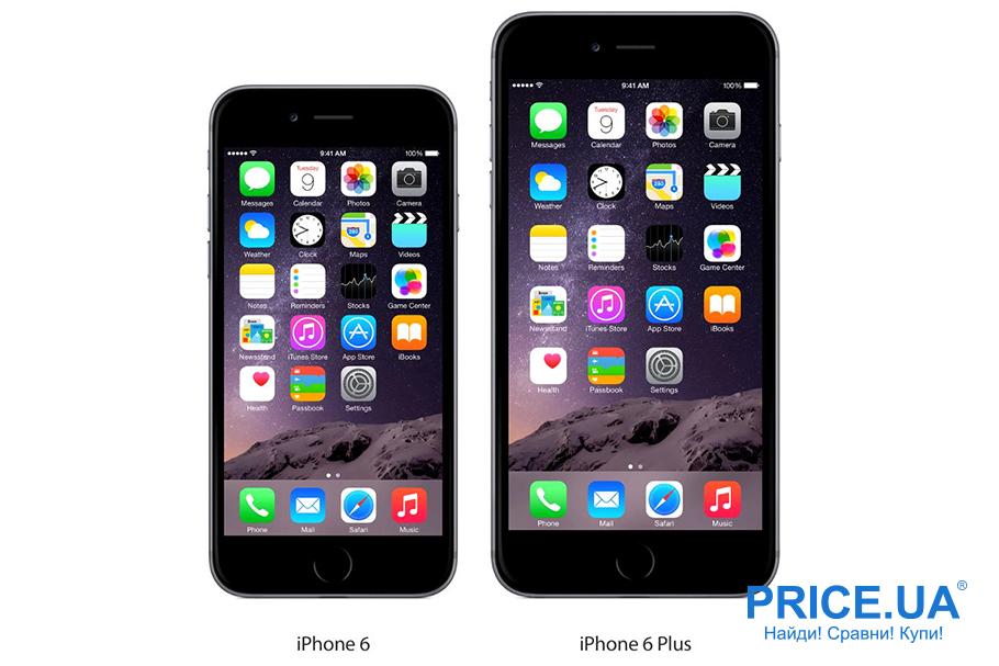 Как выбирать iPhone? iPhone 6 и 6 Plus