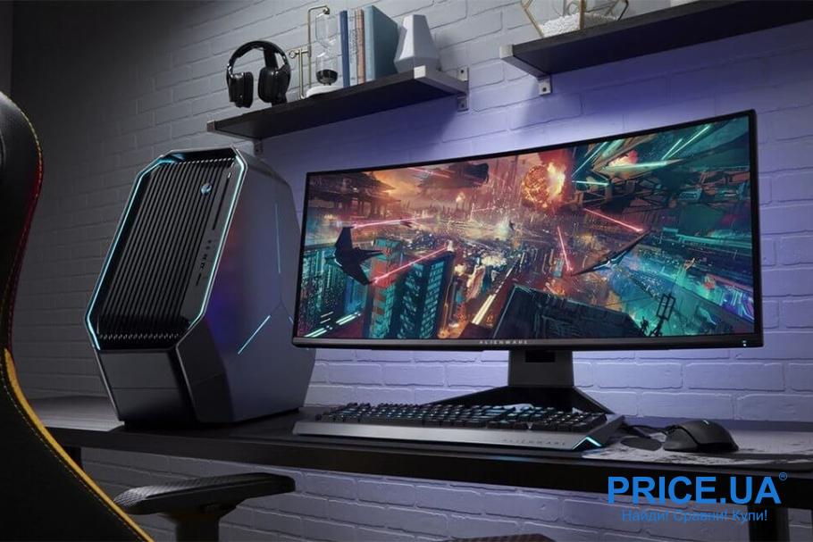Топ игровых мониторов 2019. Какой выбрать? Alienware AW3418DW