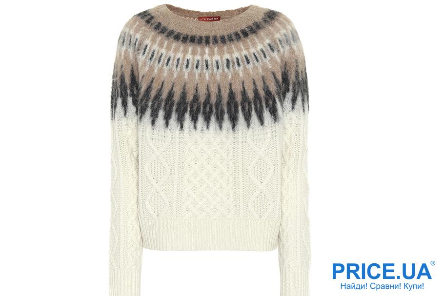 Тренды зимы 2019: какие модны свитера? С элементами в стиле Парвати