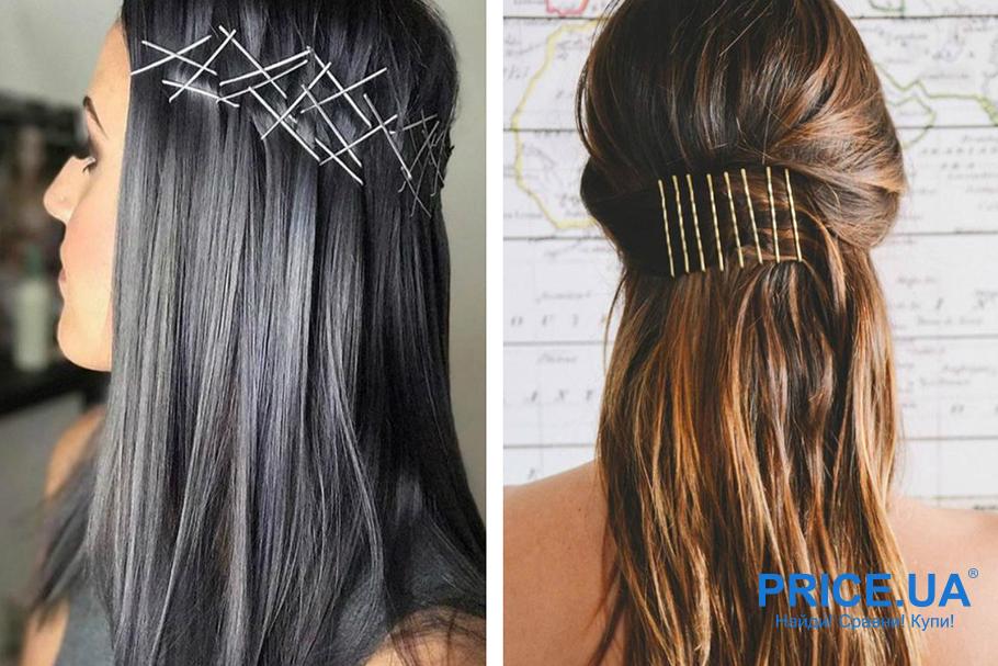 Прически для нового года. Идеи для волос средней длины - геометрия невидимок