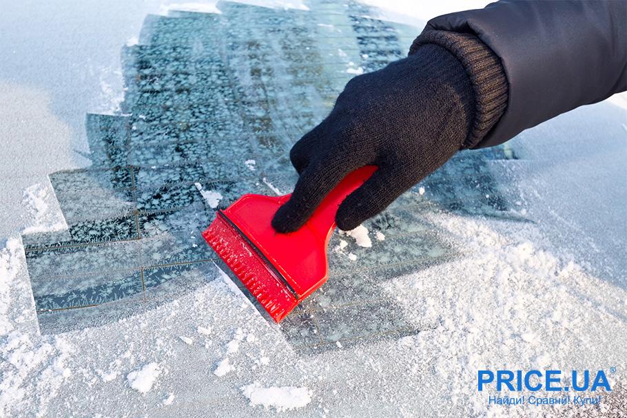 Правила очистки льда с автомобиля