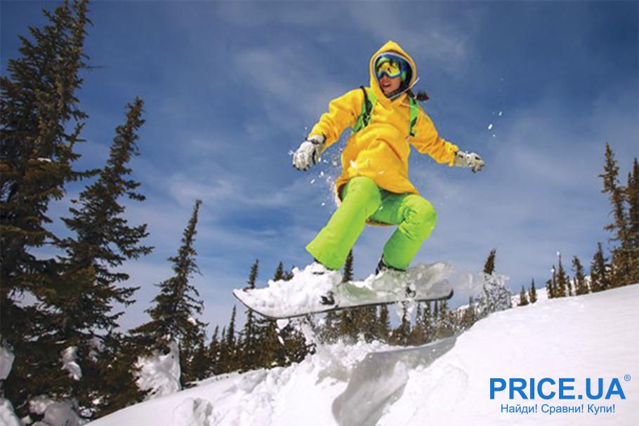 Снаряга для зимних активностей: что и как выбрать? Сноуборд