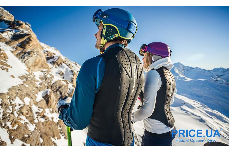 Снаряга для зимних активностей: что и как выбрать? Защита спины
