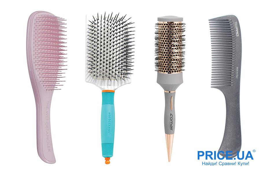Как выбрать правильно расческу? Для густых и непослушных волос