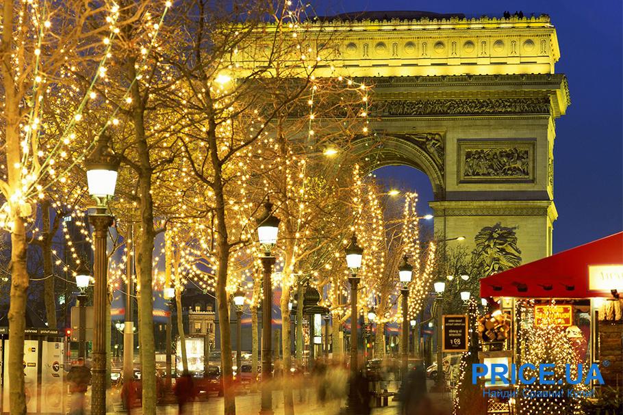 Новый год не дома: куда поехать? Париж