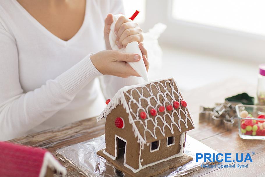 Пряничный домик hand-made: лайфхак. Глазурь