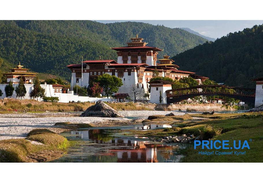 Топ модных мест для путешествий 2020. Королевство Бутан