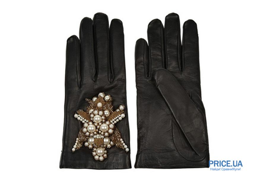 Идеальные перчатки для зимы 2020: декор