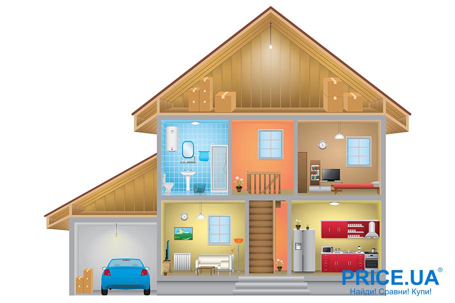 Советы по выбору классного частного дома. Второй этаж- спальный