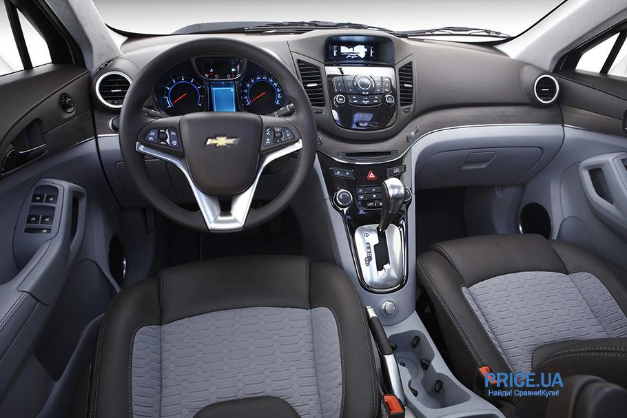 Топ 7-местных авто: Chevrolet Orlando