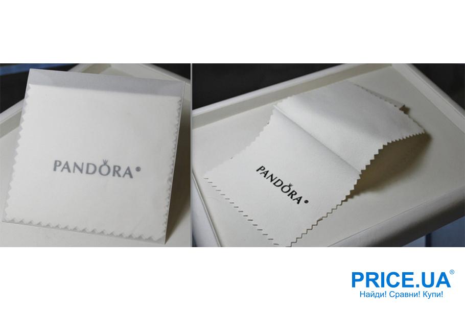 Советы по уходу за украшениями Pandora. Фирменные салфетки