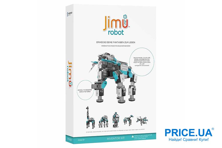 Как выбрать качественную игрушку-робота? Ubtech Jimu Inventor