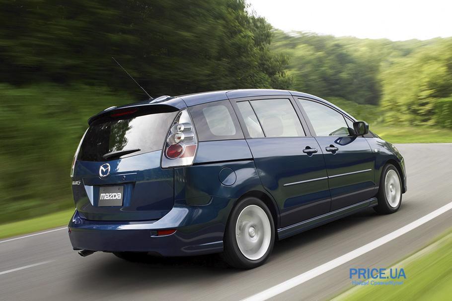 Топ 7-местных авто: Mazda 5