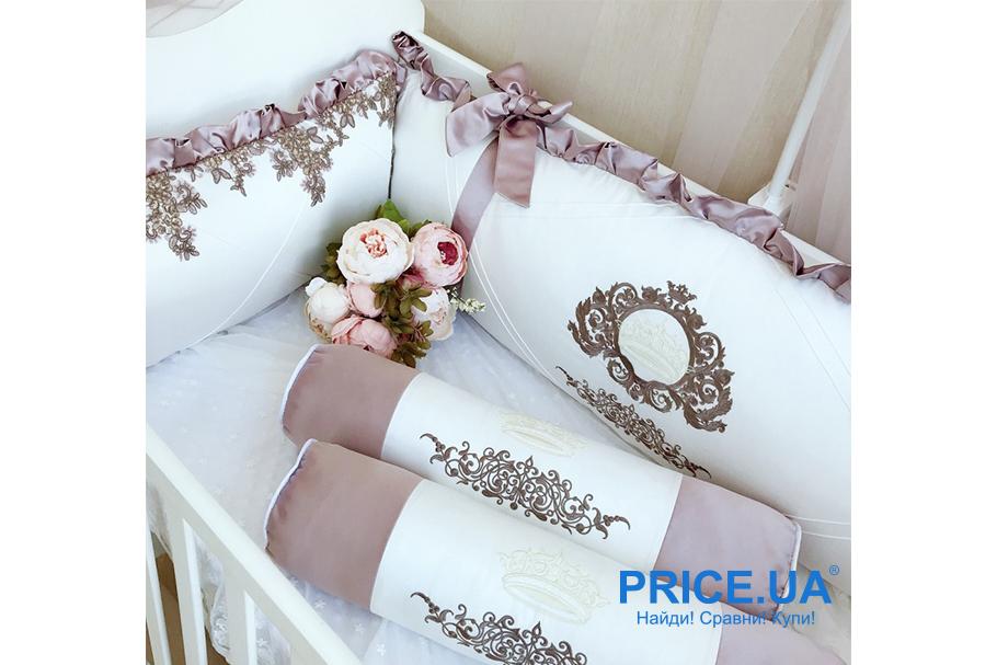 Комплект в кроватку: как сшить самой бортики-защиту? Пример кроя