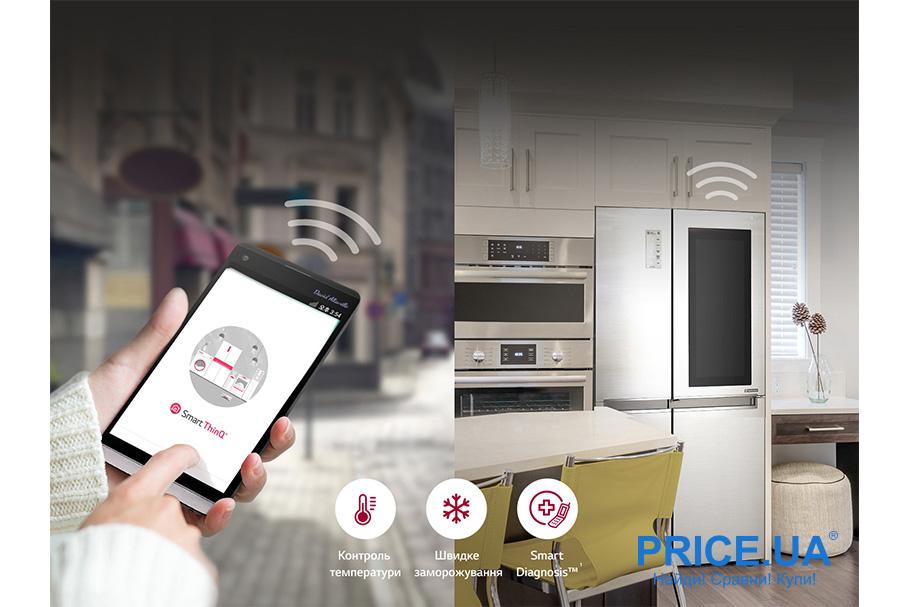 Холодильник LG GC-Q247: обзор.Smart Diagnosis
