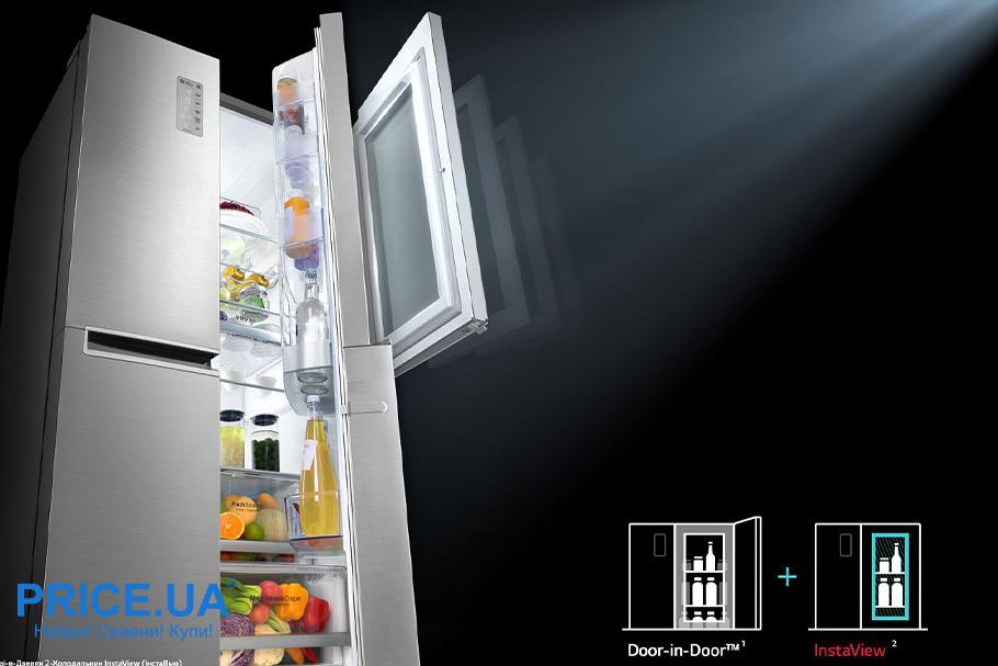 Холодильник LG GC-Q247: обзор. Инновации
