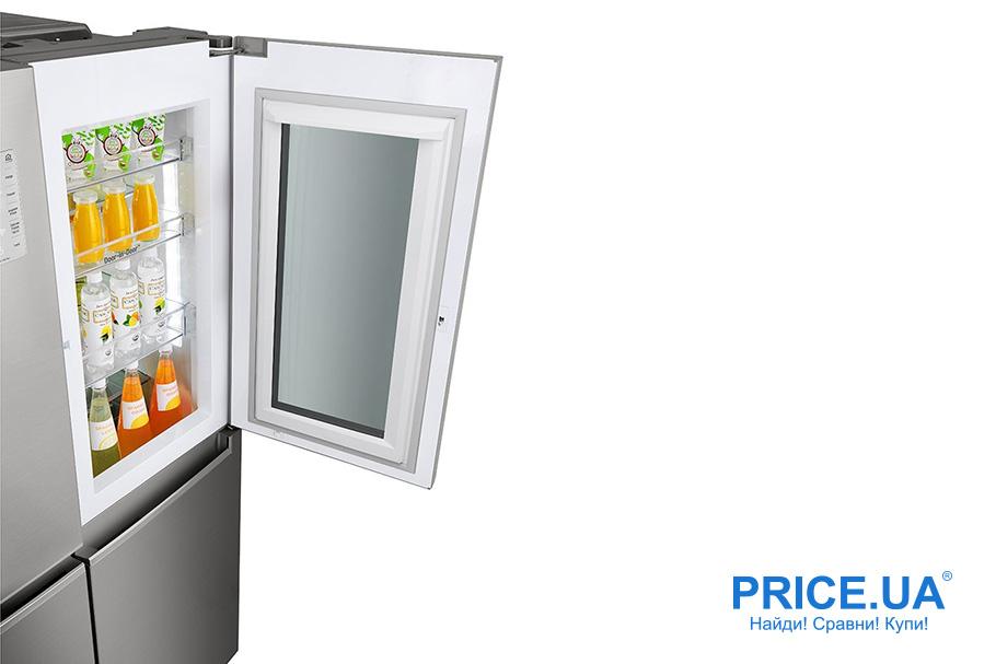 Холодильник LG GC-Q247: обзор. InstaView