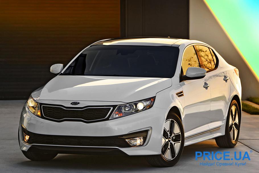 Рейтинг самых обесцениваемых автомобилей. KIA Optima Hybrid