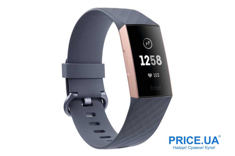 Фитнес-браслеты: десятка лучших. Fitbit Charge 3
