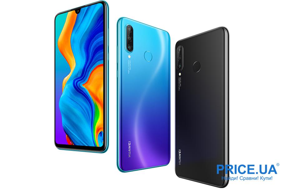 Десятка лучших среднебюджетных смартфонов. Huawei P30 Lite