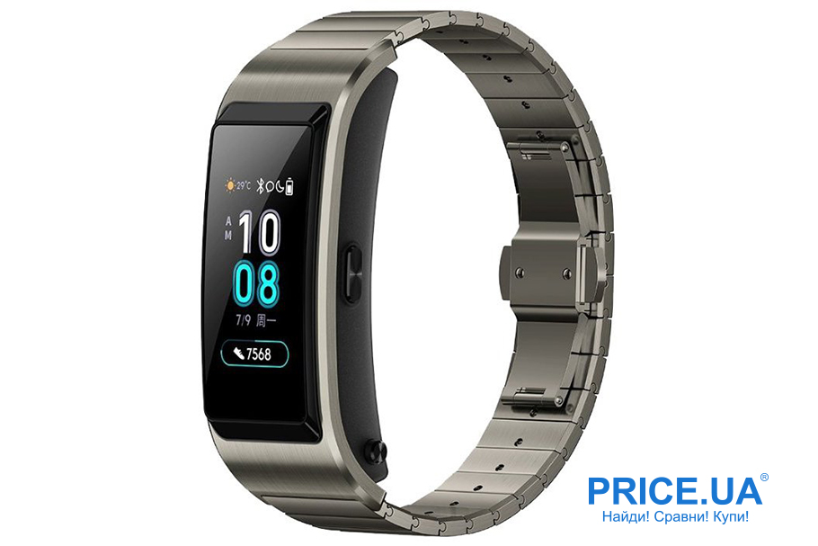 Фитнес-браслеты: десятка лучших. Huawei Talkband B5