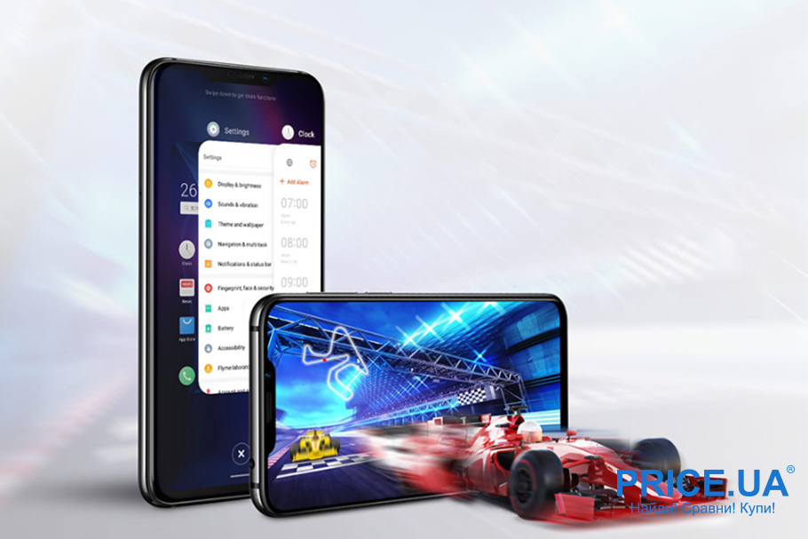 Десятка лучших среднебюджетных смартфонов. Meizu X8 6/128GB