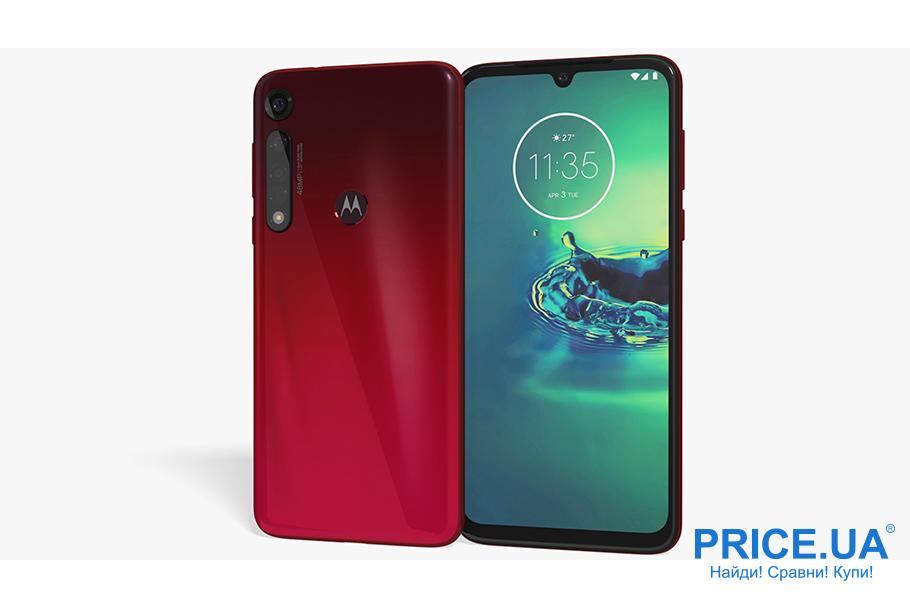 Десятка лучших среднебюджетных смартфонов.Motorola Moto G8 Plus