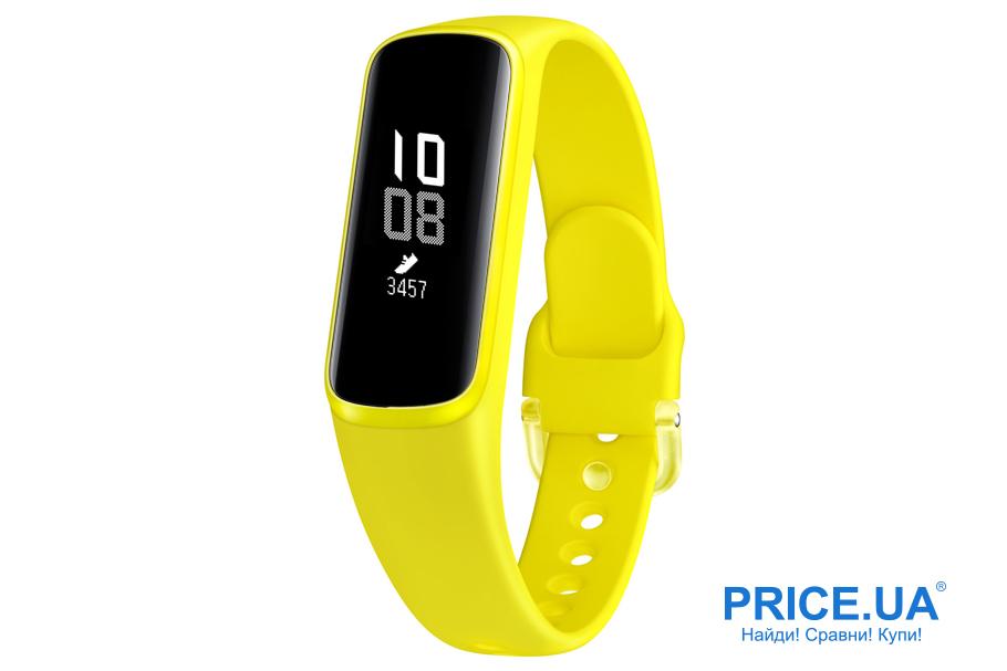 Фитнес-браслеты: десятка лучших. Samsung Galaxy Fit E
