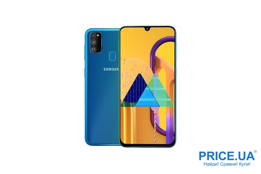 Десятка лучших среднебюджетных смартфонов. Samsung Galaxy M31