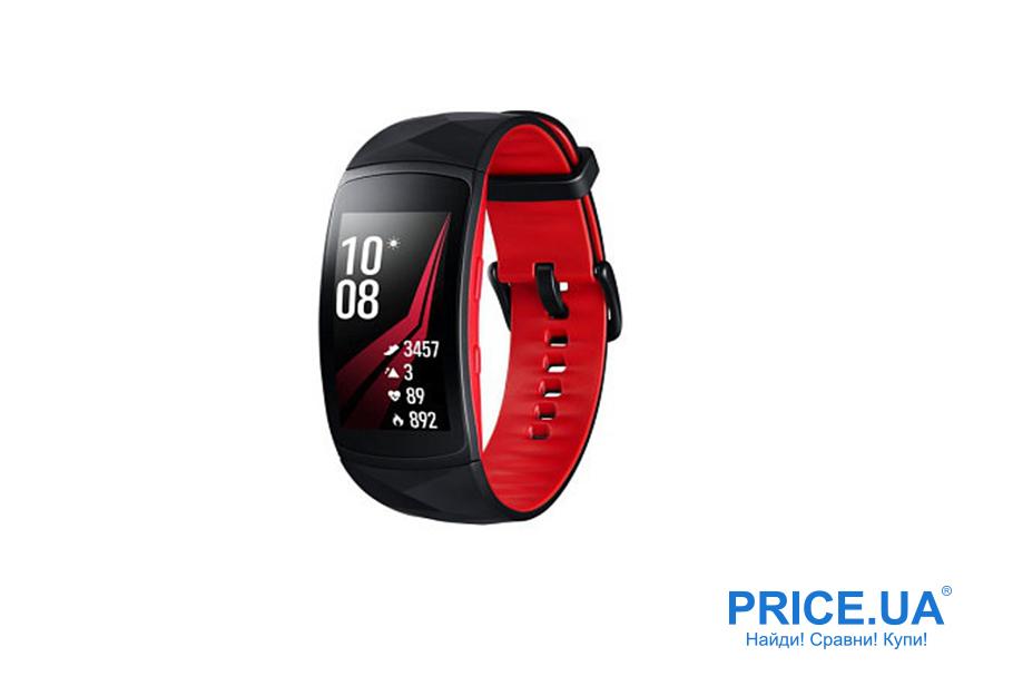 Фитнес-браслеты: десятка лучших. Samsung Gear Fit 2 Pro