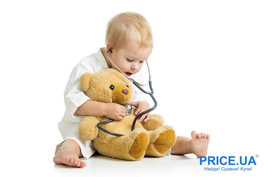 Приучаем ребенка не бояться врачей:советы. Играйте в доктора