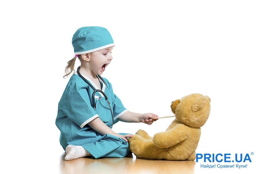 Приучаем ребенка не бояться врачей:советы. Игрушки в помощь