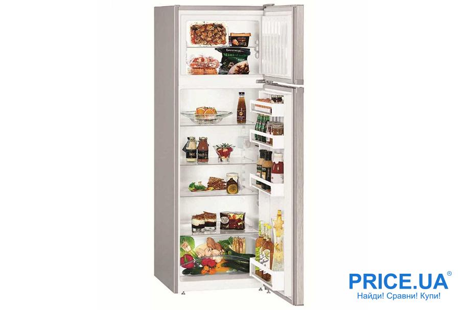 Топ-7 популярных холодильников в бюджете 15 000 грн. Liebherr CTel 2931