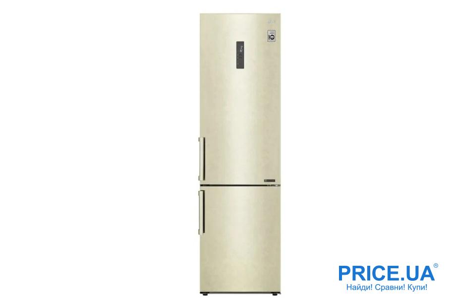 Топ-7 популярных холодильников в бюджете 15 000 грн. LG DoorCooling+ GA-B509 BEDZ