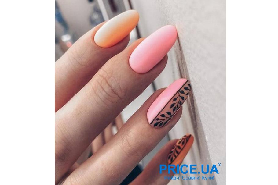 Модный маникюр весны 2020: тренды.   Пастельный розовый и лососевый