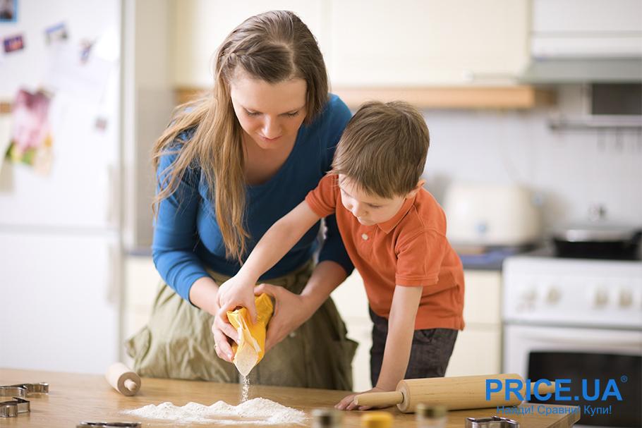 Занятия с детьми на каратине. Кулинарничаем вместе