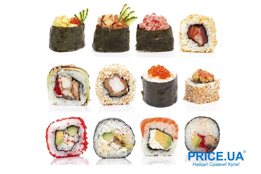 Лайфхак: готовим суши дома. Три вида суши