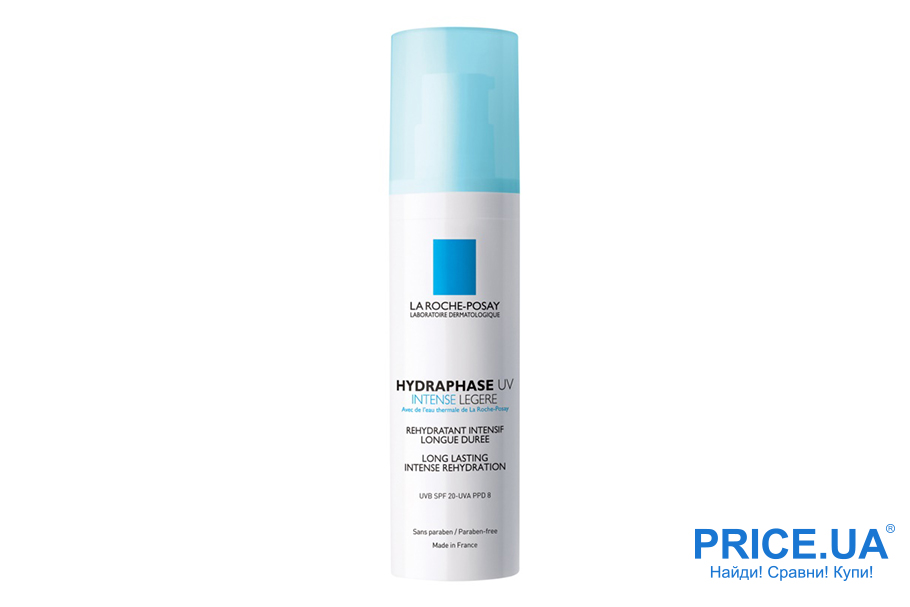 Лучшие кремы для кожи 30+. Топ-7. Hydraphase Riche La Roche Posay