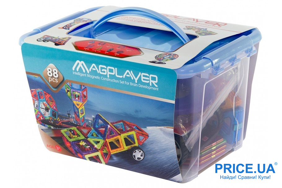 Топ игровых наборов для детей. Magplayer