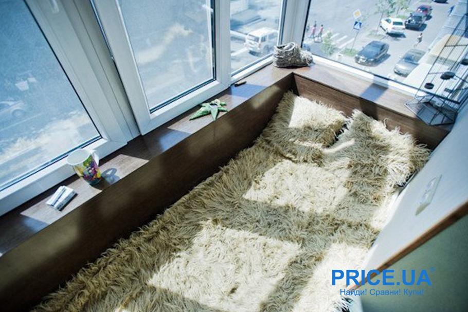 Крутые идеи для дизайна балкона. Балконспальня