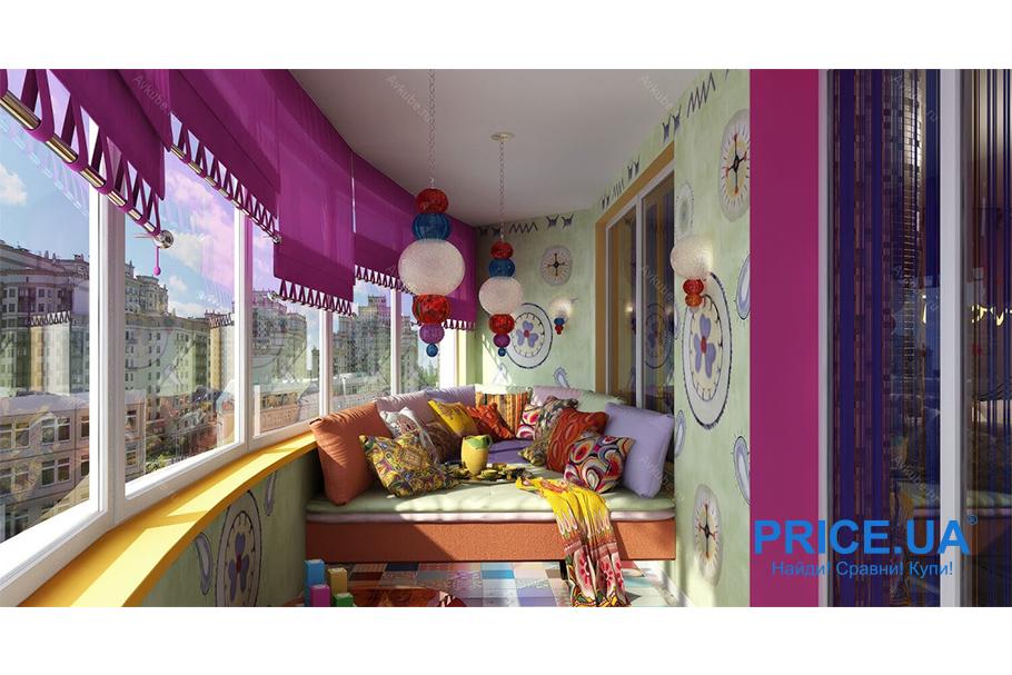 Крутые идеи для дизайна балкона. Восточный стиль