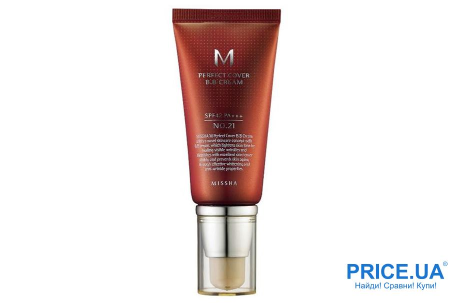 Какой лучше выбрать крем: ВВ или основу? Missha M Perfect Cover BB Cream SPF 42