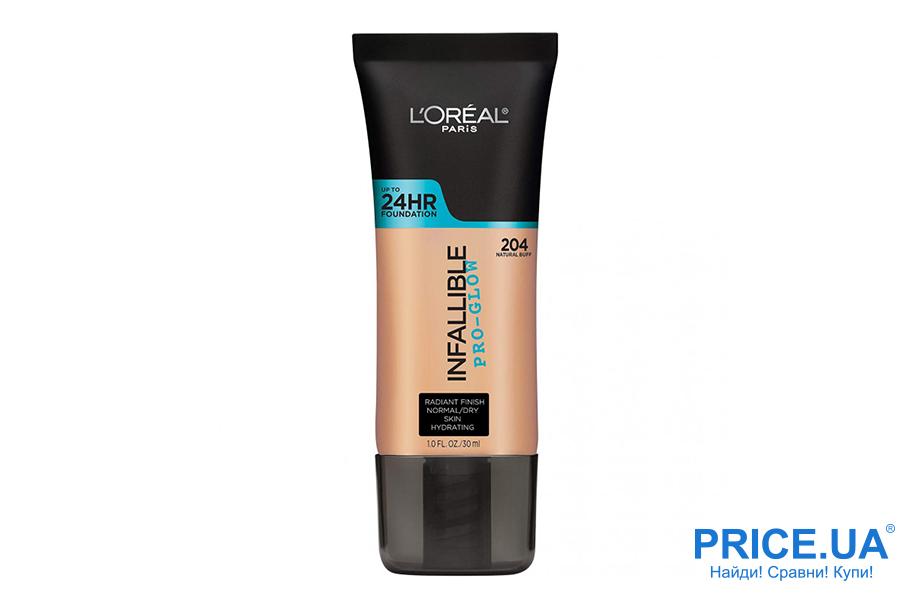 Какой лучше выбрать крем: ВВ или основу? L'Oréal Paris Infallible Pro Glow Longwear Foundation