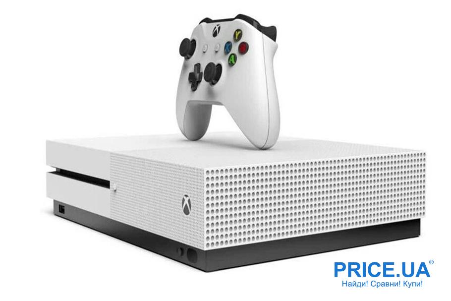 Играть на карантине: топ приставок и девайсов. Microsoft Xbox One S