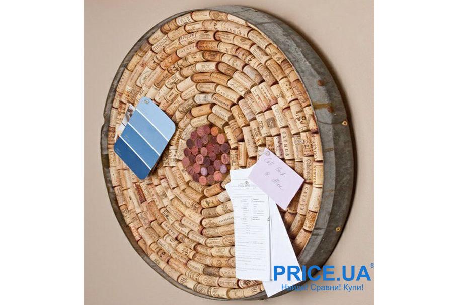 Доска из пробок от вина: лайфхак по созданию